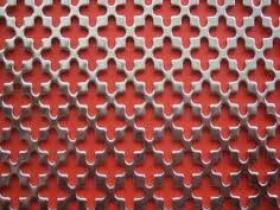Perforated Metal Decoration